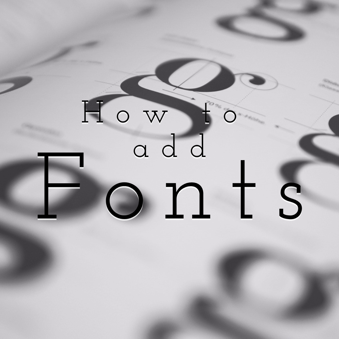 How to Add Your Own Fonts on PixTeller Editor