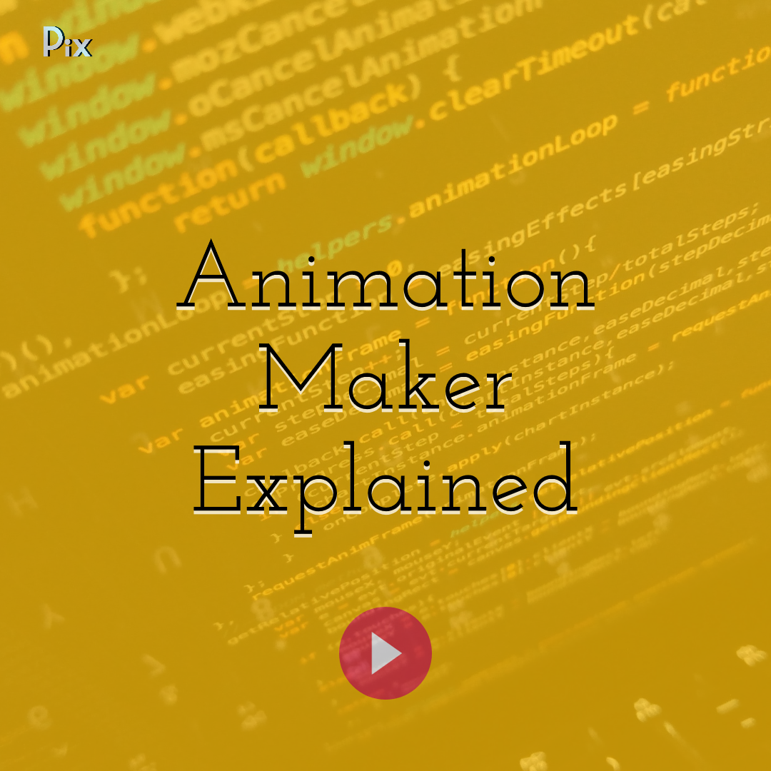 Make Your Own Animations Start From an Image Template