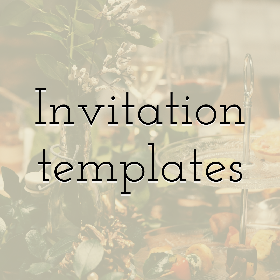 Top Invitation Templates