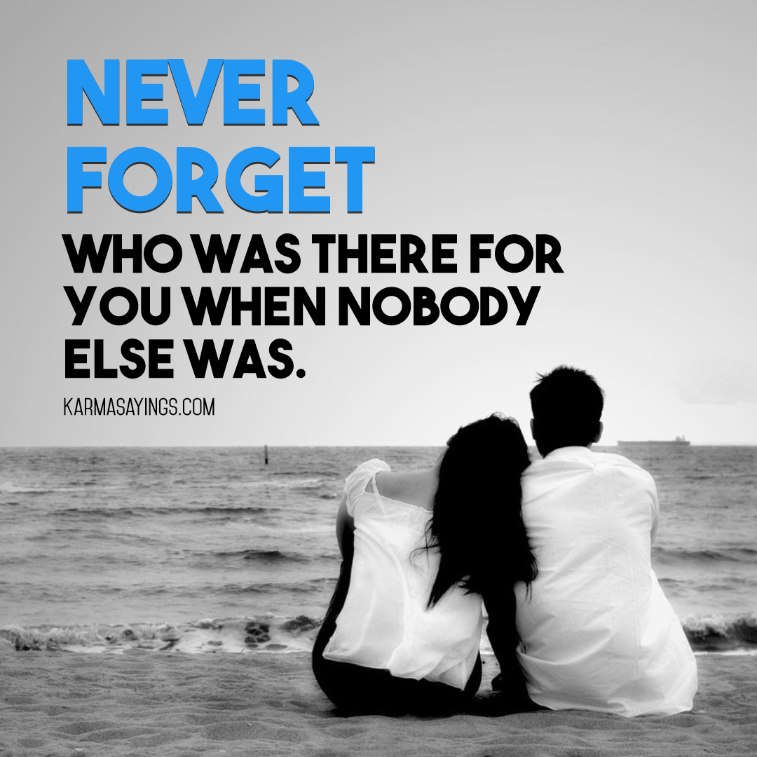 Never forget who was there for you Design  Template