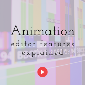 Animation Editor Features Explained 2