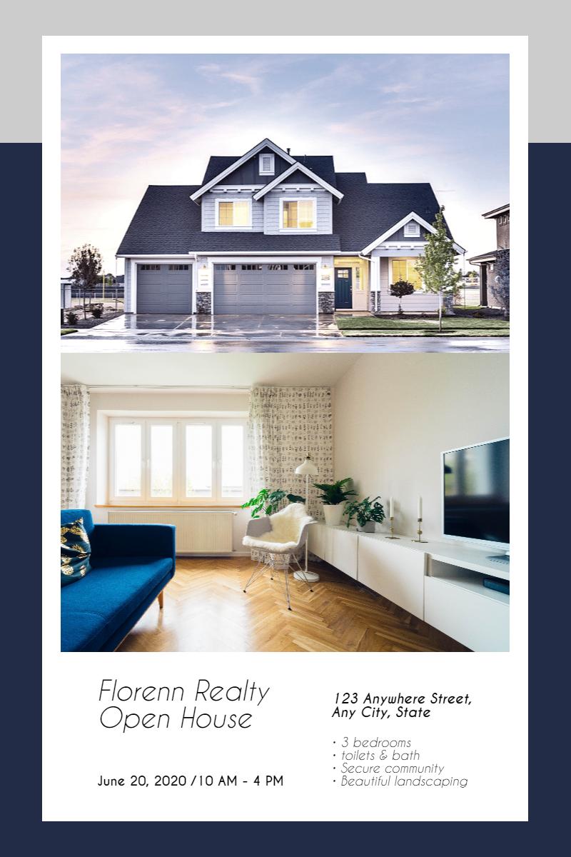 Real estate sale design template - Design  Template