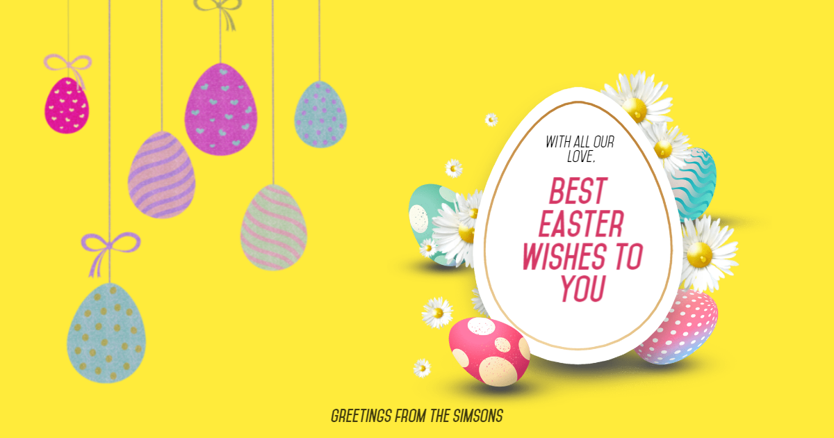 Happy Easter Design Template - Design  Template