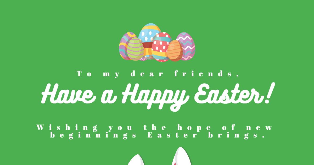 Happy Easter Design Template - Design  Template