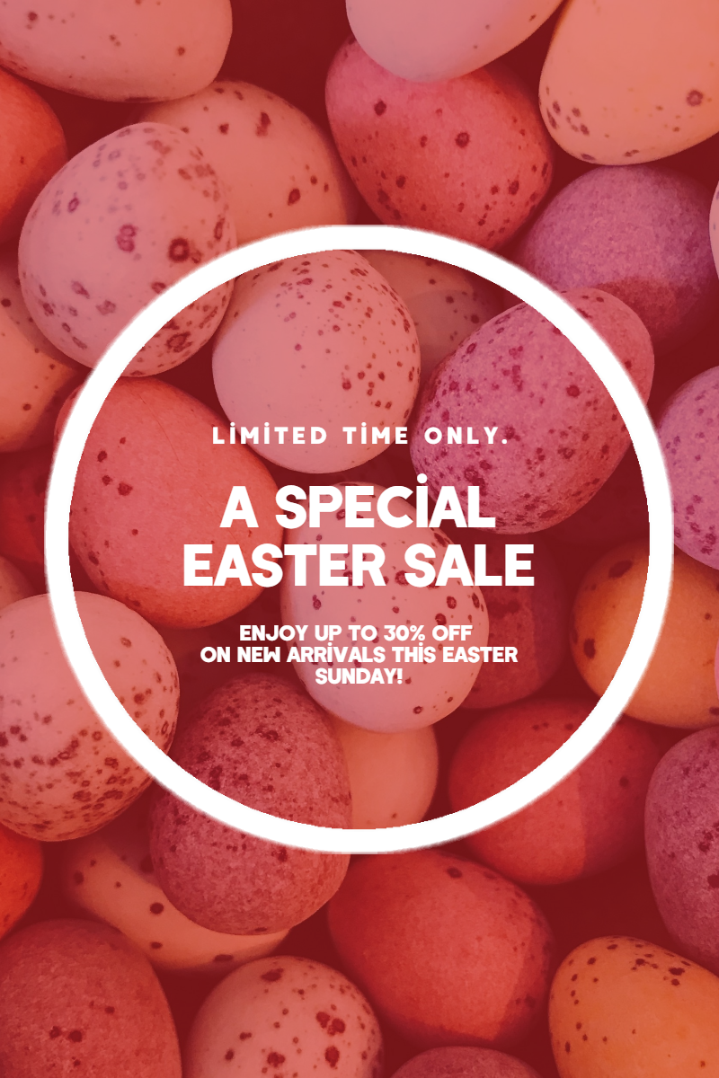 Sale Happy Easter Design Template - Design  Template