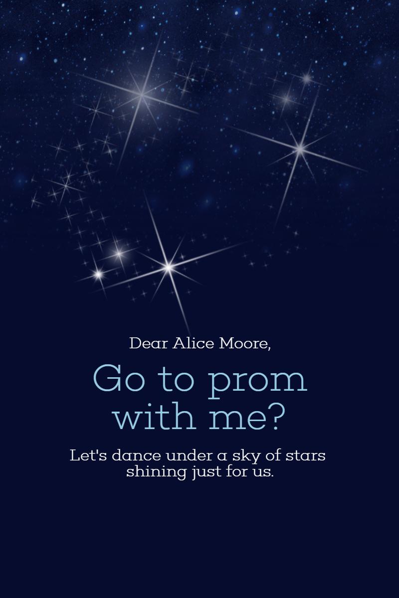 Sky full of Stars Anniversay Design  Template