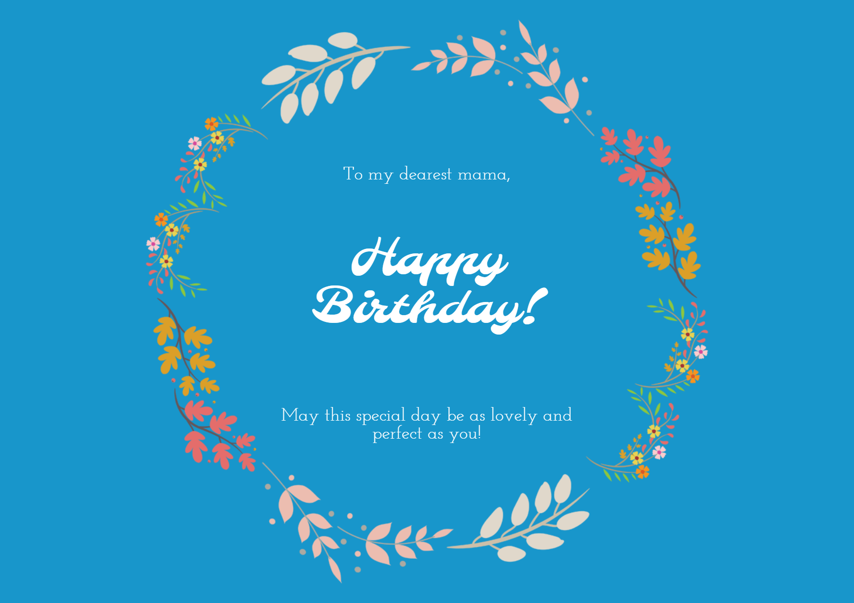 Happy Birthday Anniversary Template Design  Template