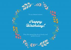 Happy Birthday Anniversary Template - #anniversary