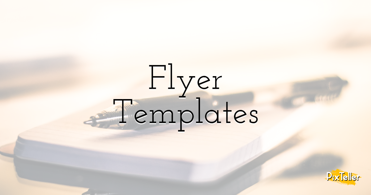 Flyer Templates Design  Template