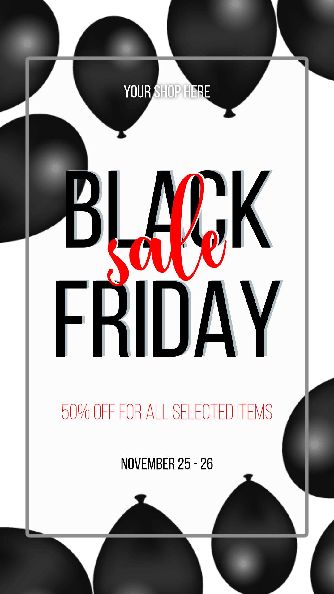 Black Friday #black friday #sale Design  Template