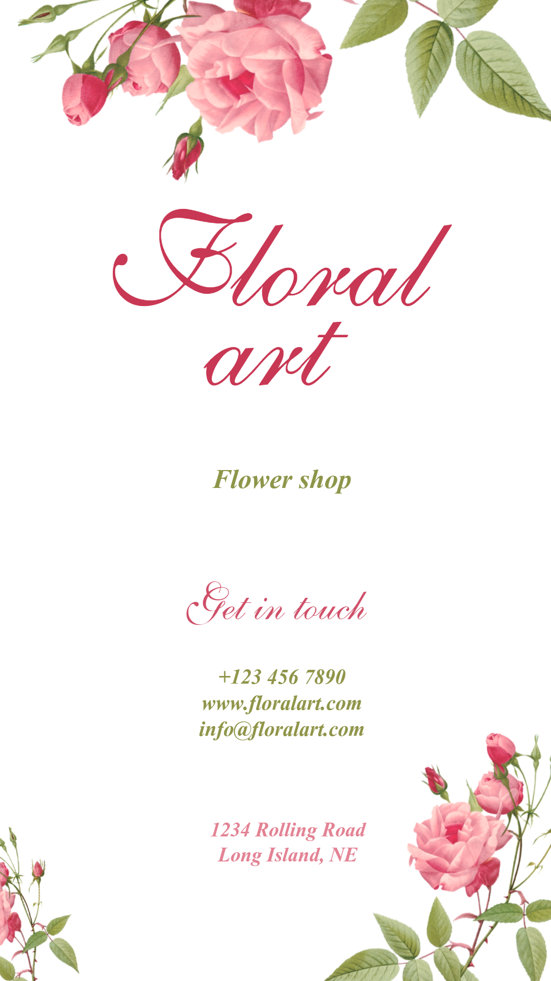 Flower shop #business #flower Animation  Template