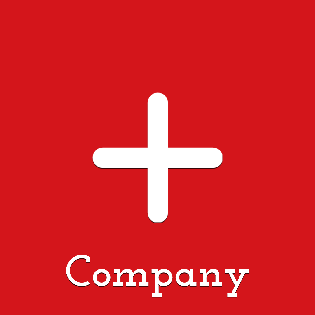 Plus Red Logo Animation  Template