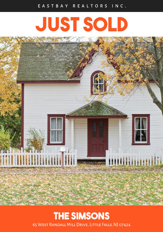 Real Estate Sale Post - #sales Design  Template