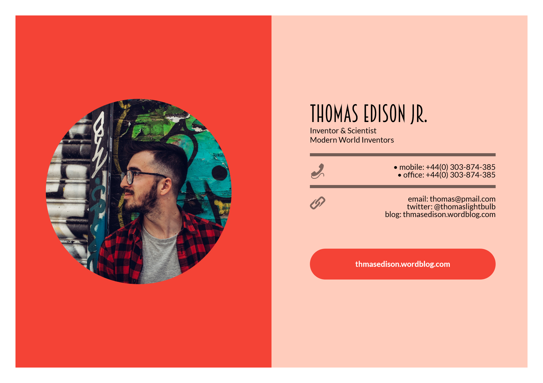 #about #business Design  Template