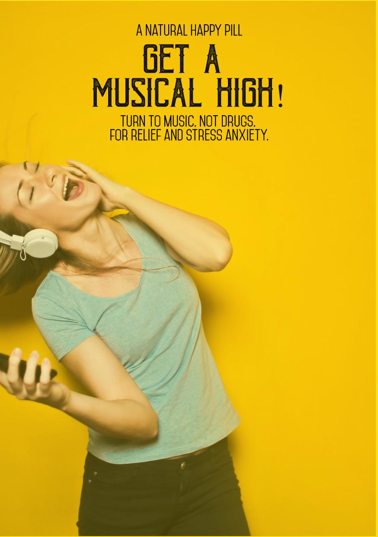 Social media post - #wording #music Design  Template