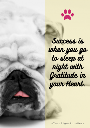 success puppy #funny #avatar #poster #quote
