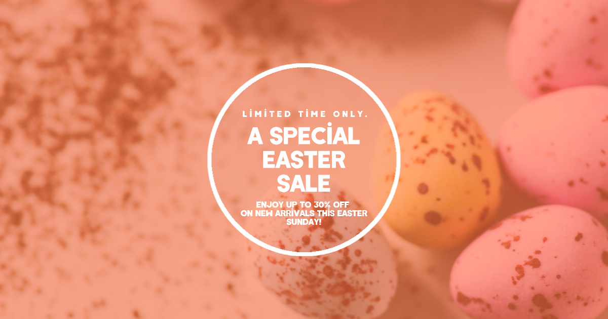 Sale Happy Easter Design Template - Design  Template