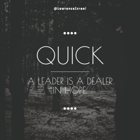 Square design layout - #Saying #Quote #Wording #dots #symbol #monochrome #four #fir #font #and