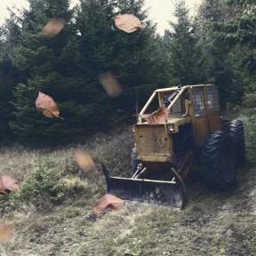 Photo Overlay Design - #PhotoOverlay #PhotoFilter #Photography #vehicle #Bulldozer #construction #down #commodity #grass #OverlayPhoto #does #equipment