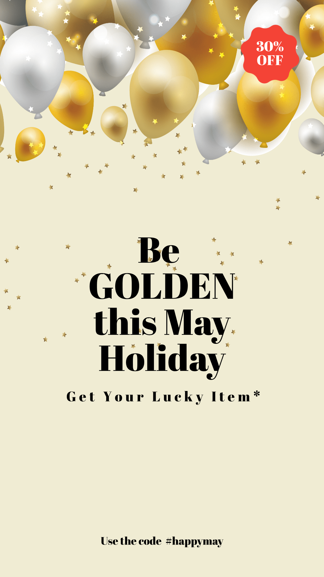 Be Golden this Spring Animation  Template