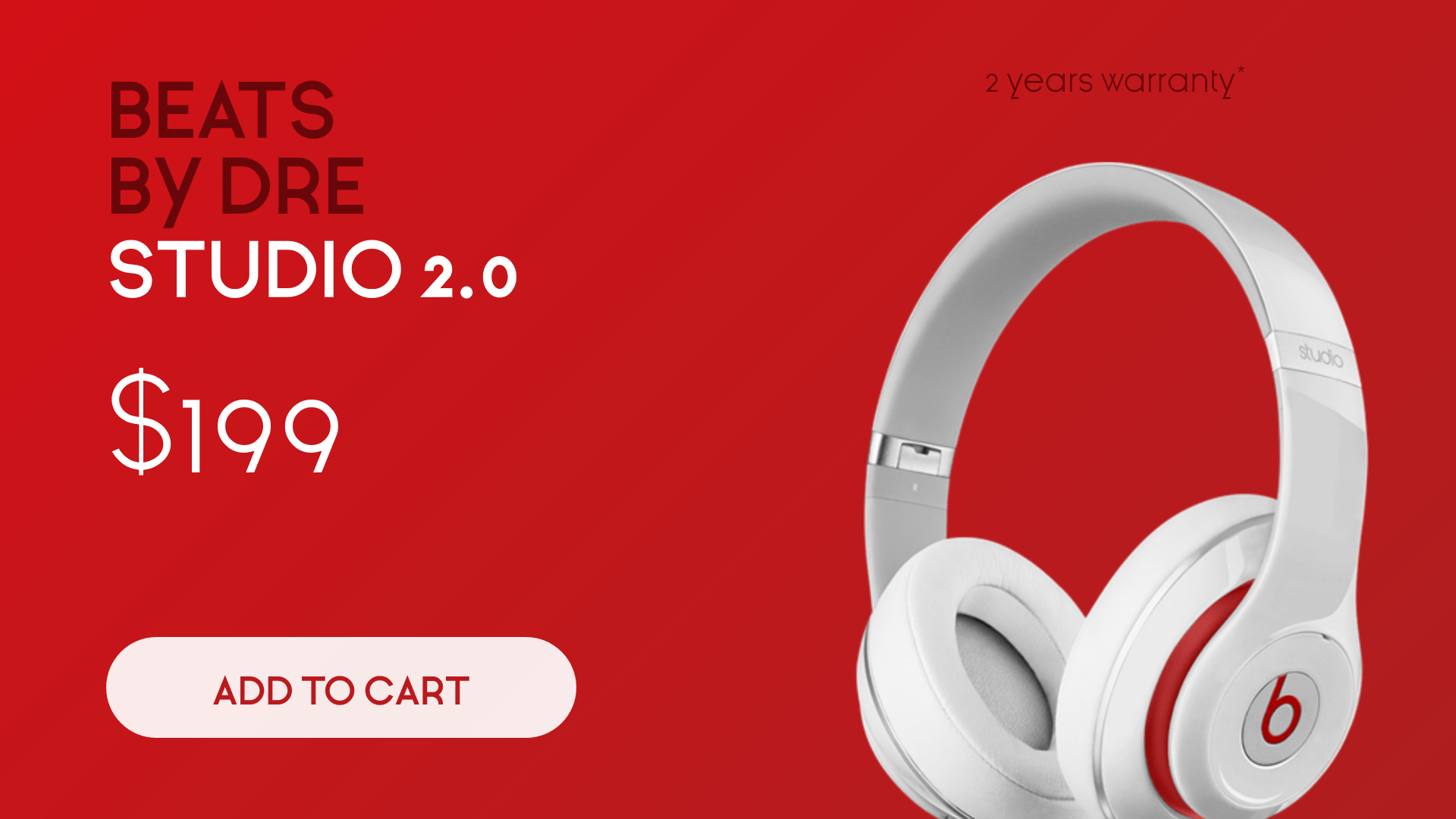 Sales Banner - Beats Headphones Animation  Template