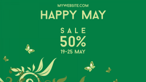 Happy May Sale