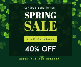 Spring Sale - Limited time offer Animation  Template