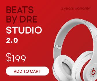 Sales Banner - Beats Headphones Design  Template