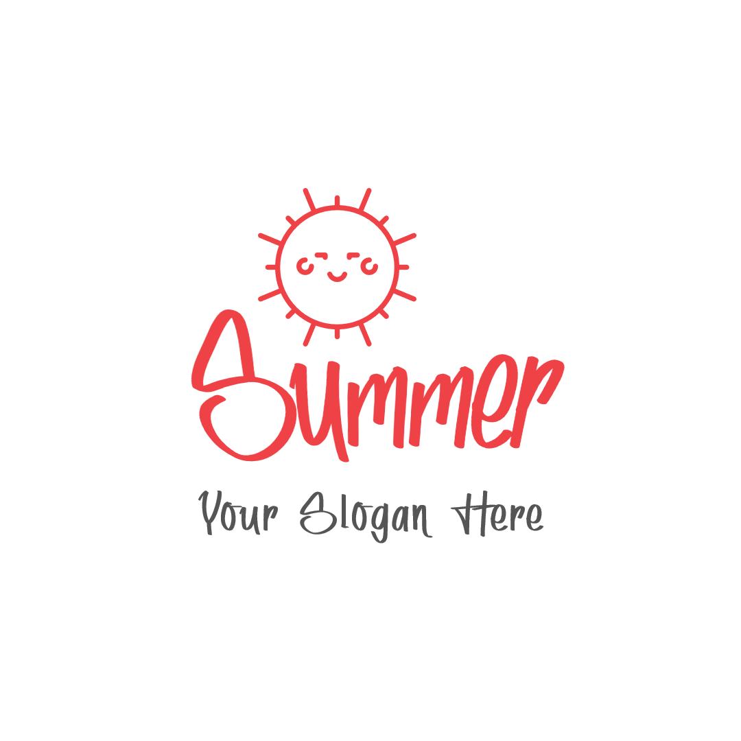 Summer logo design template - #Logo Design  Template