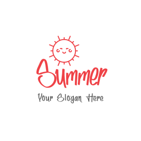 Summer logo design template - #Logo #simple