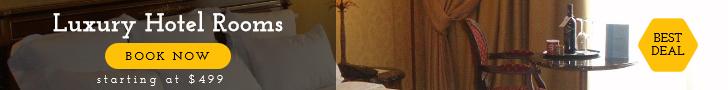 Hotel Room Banner Design  Template