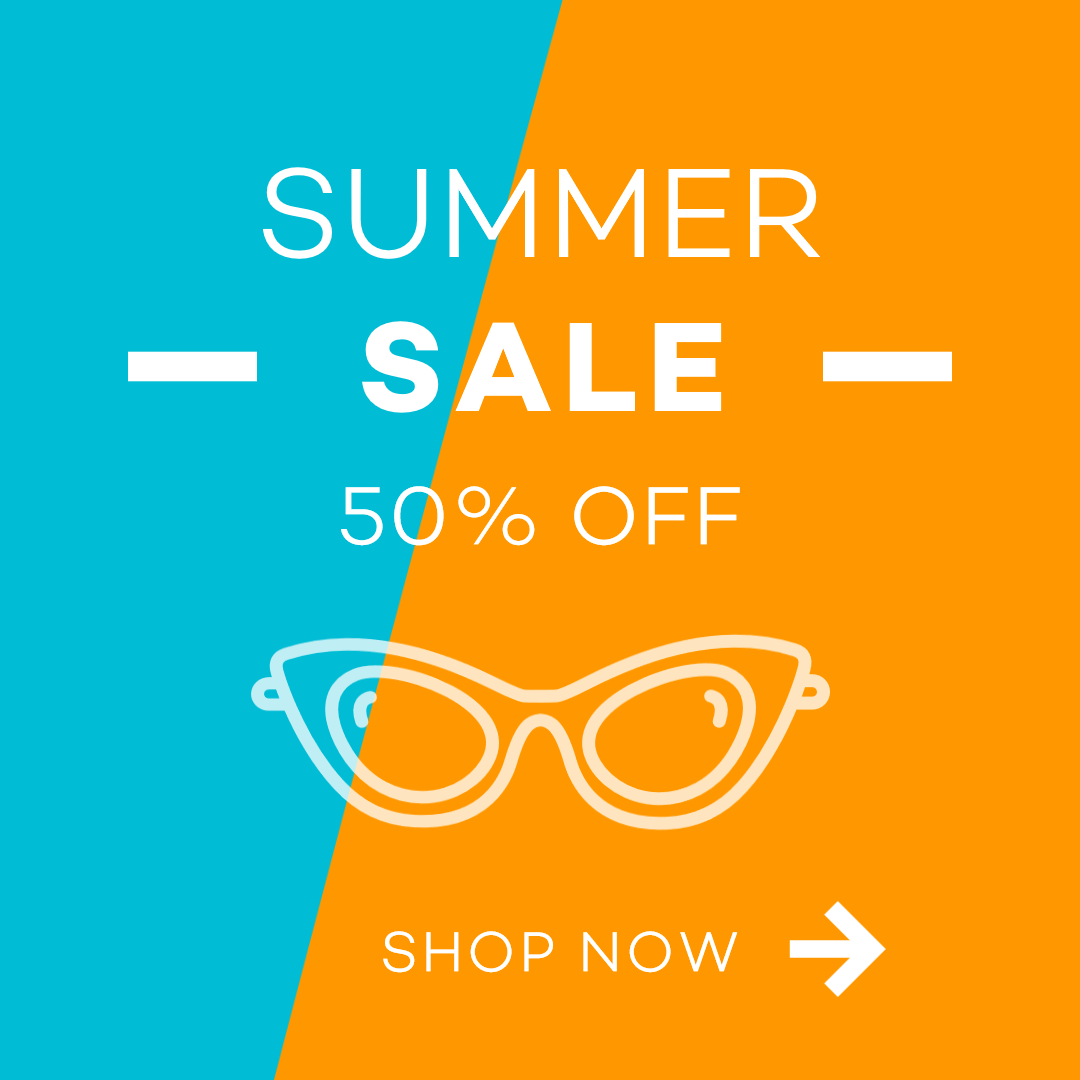 E-commerce Summer Shopping Ad Animation  Template