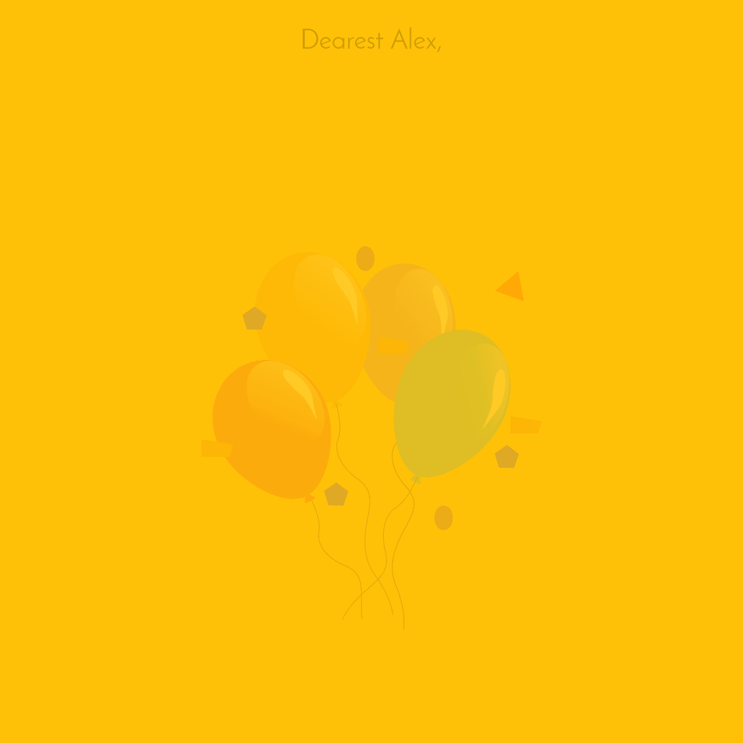 Have A  Happy Birthday Customizble Animation  Template