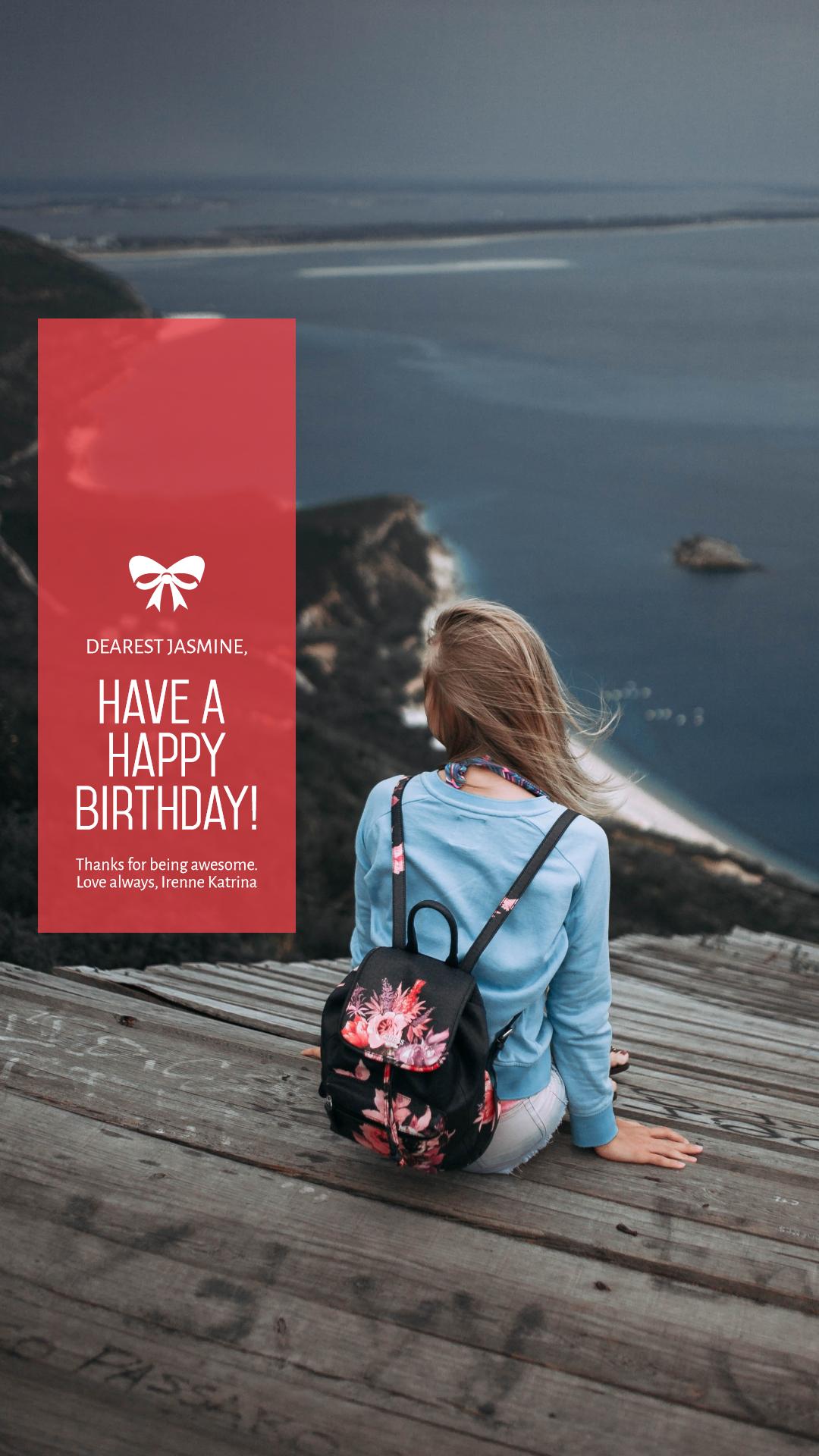 Celebrating Happy Birthday Design  Template