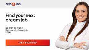 Recruitment agency banner to find talents