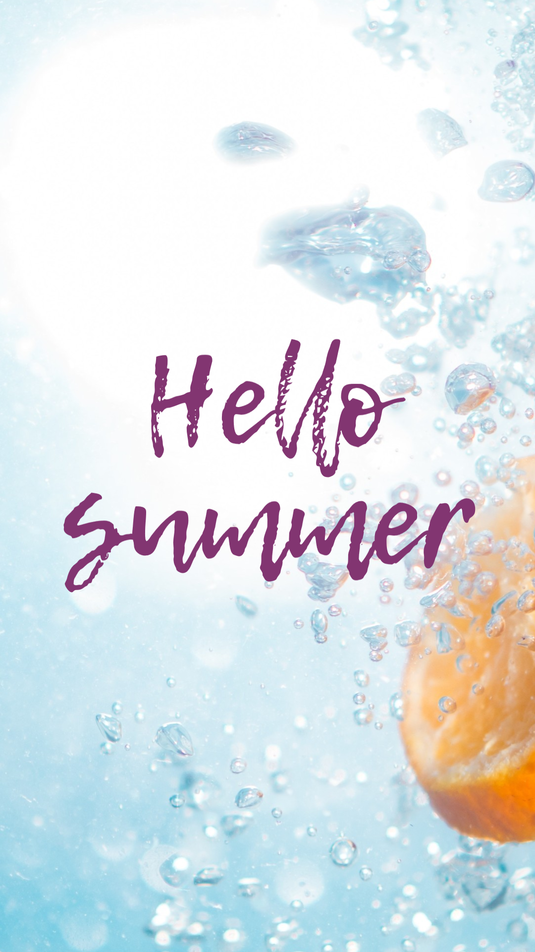 Blog Display Creative - Hello Summer Animation  Template