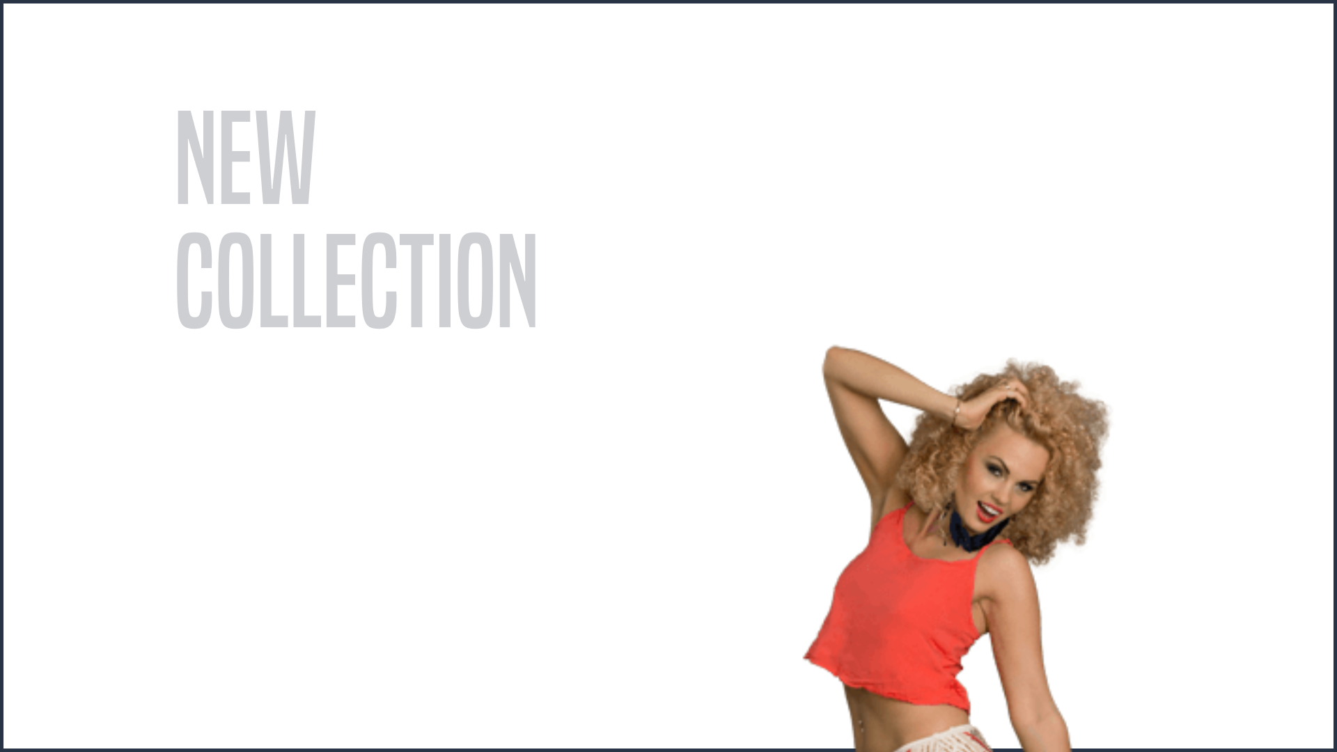 Latest sport clothing - New Sport Animation  Template