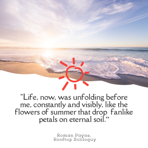 Photo Summer Quote Post Easy to Customize with PixTeller Editor