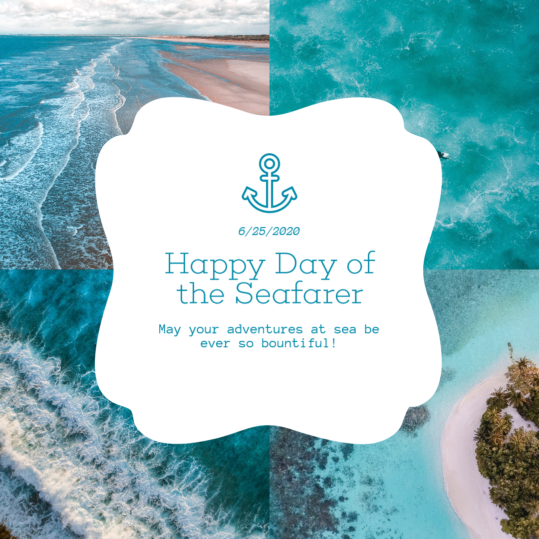 Blue Sea Custom Collage Design Design  Template