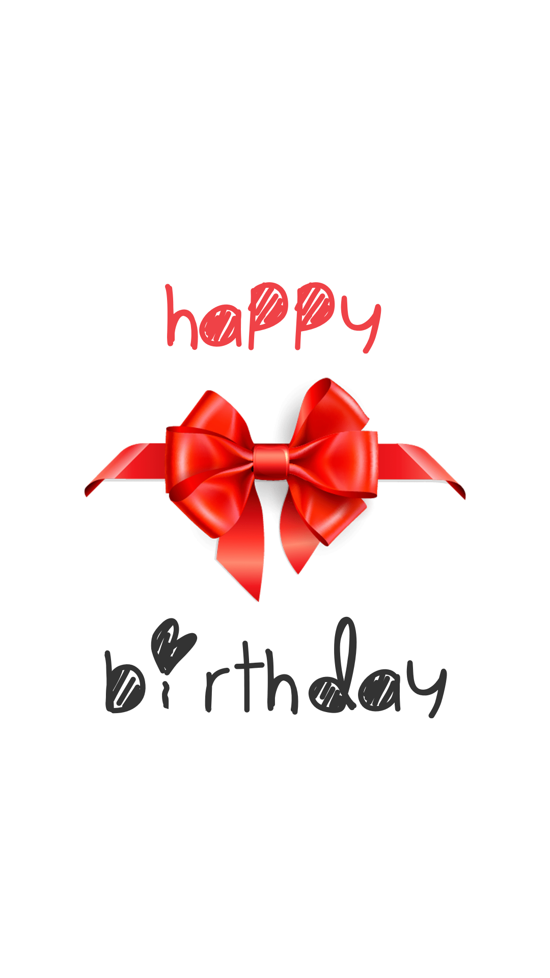 Happy Birthday Graphic for Your Animation  Template