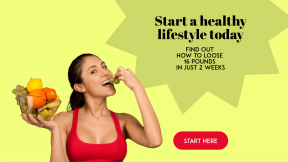 Start Living Healthy Customizable Design