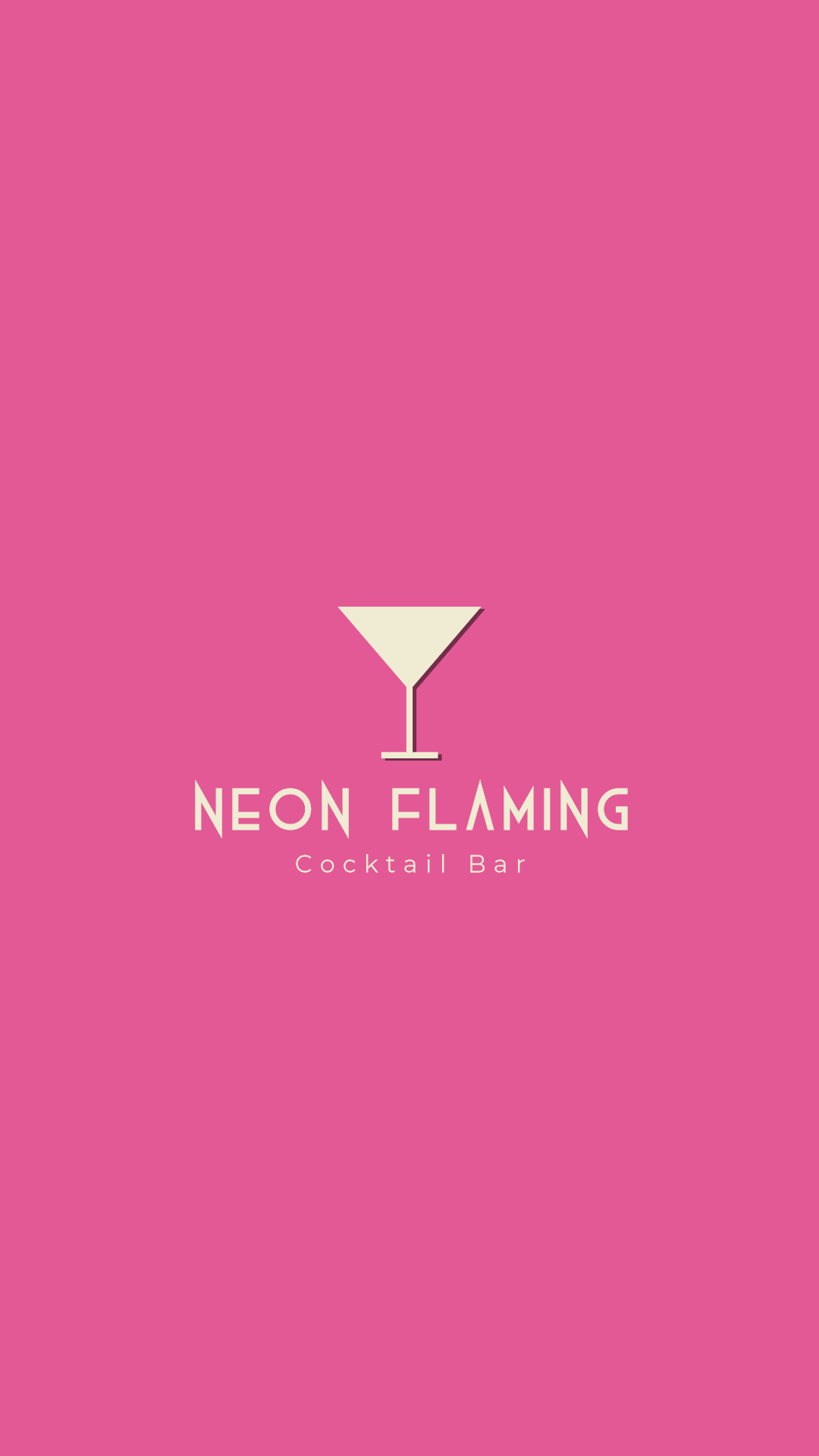 Editable Cocktail Bar Logo Easy to Animation  Template