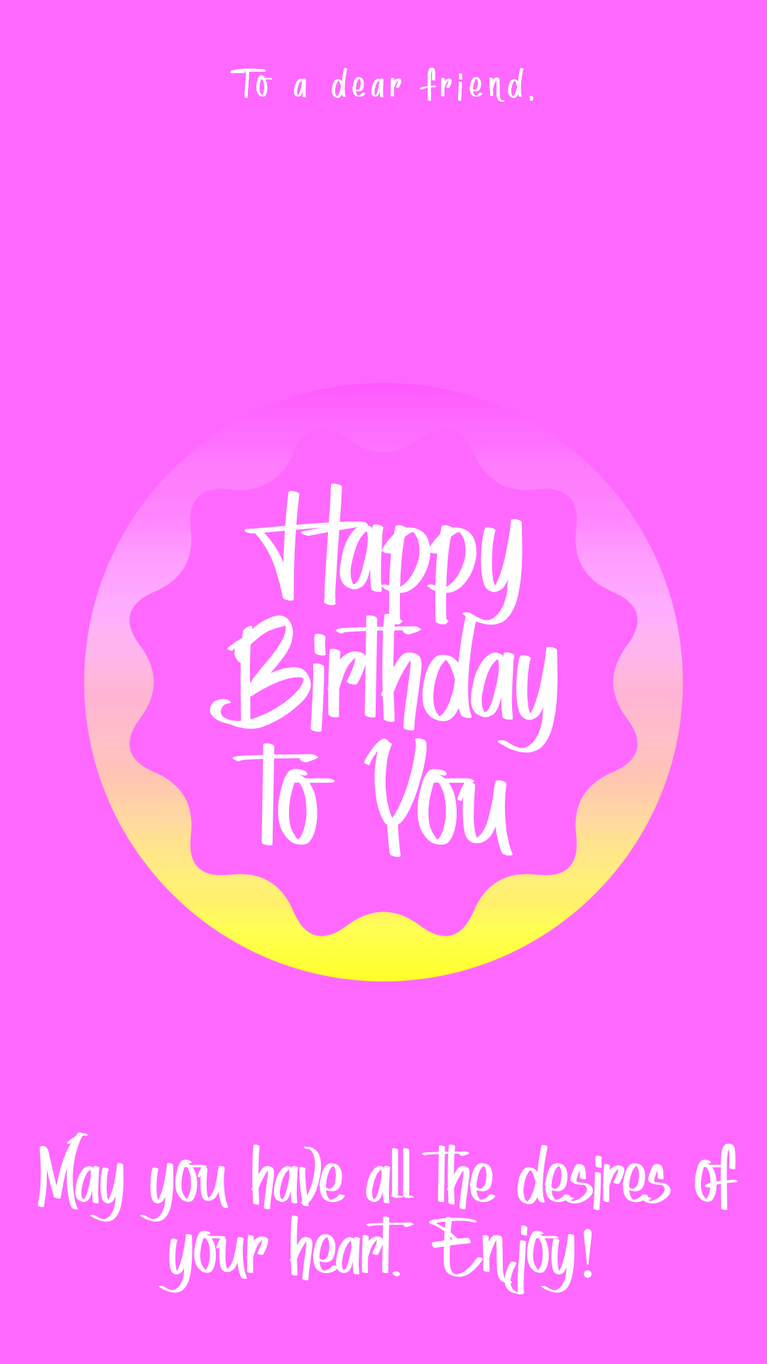 Happy Birthday Graphic for Design  Template