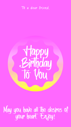Happy Birthday Graphic for Celebrating