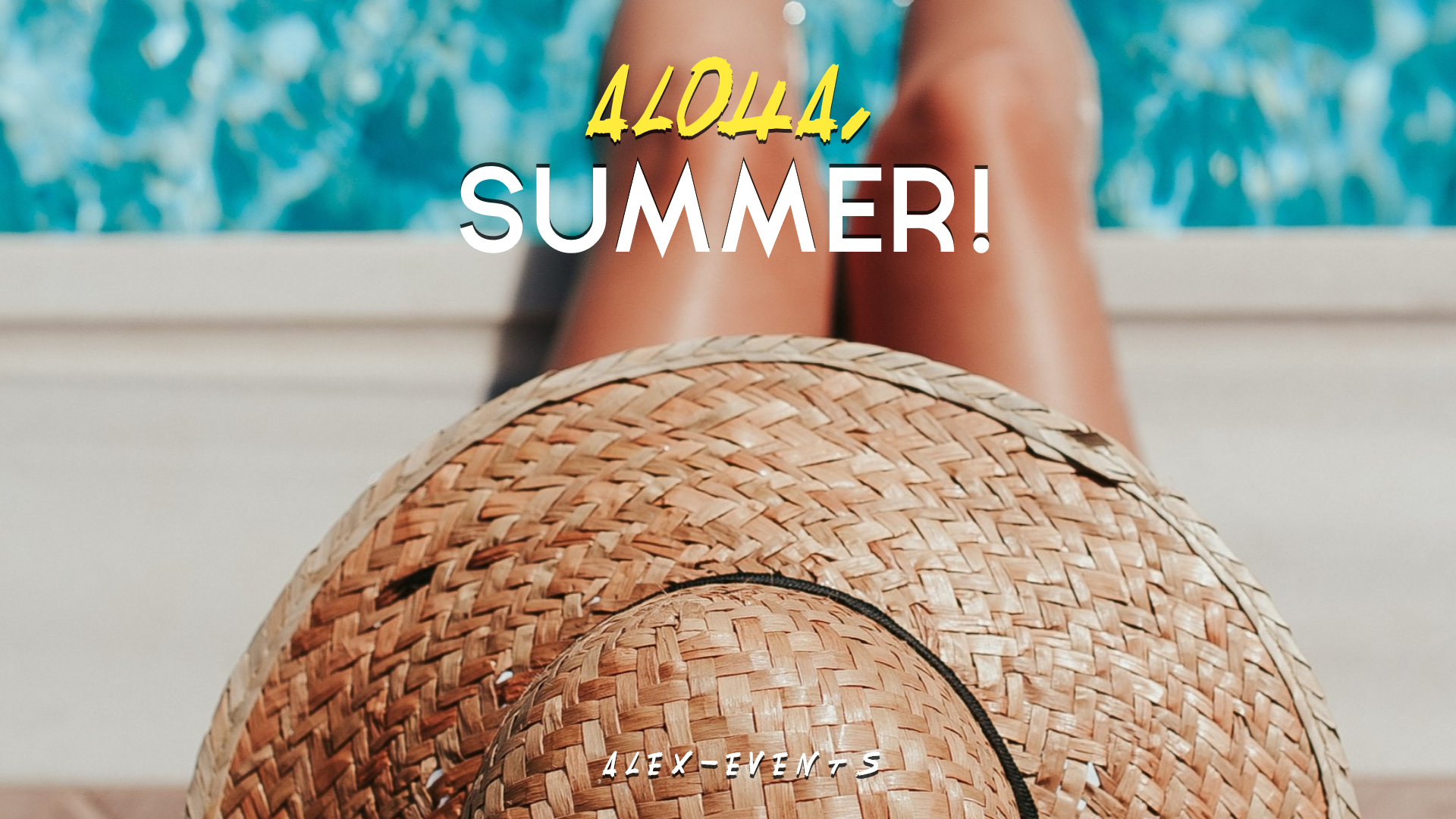Editable Hello-Aloha Summer Design Animation  Template