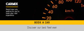 Advertise your car rental deal banner