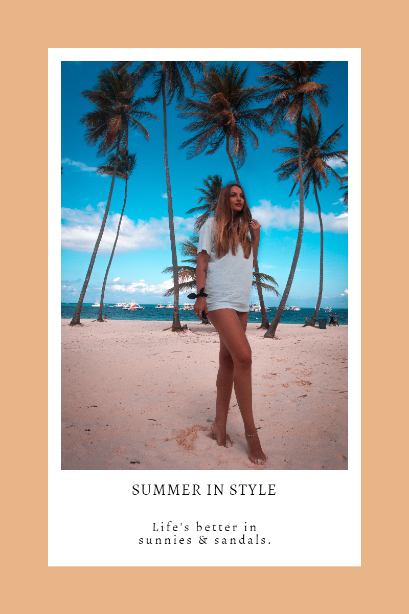 Customizble Summer in Style Graphic Design  Template