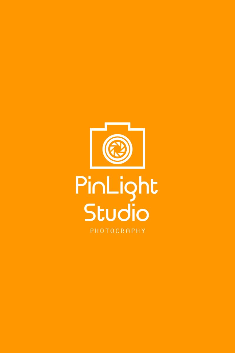 Orange Modern Photography Art & Design  Template