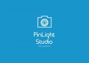Blue Modern Photography Art & Editable Logo