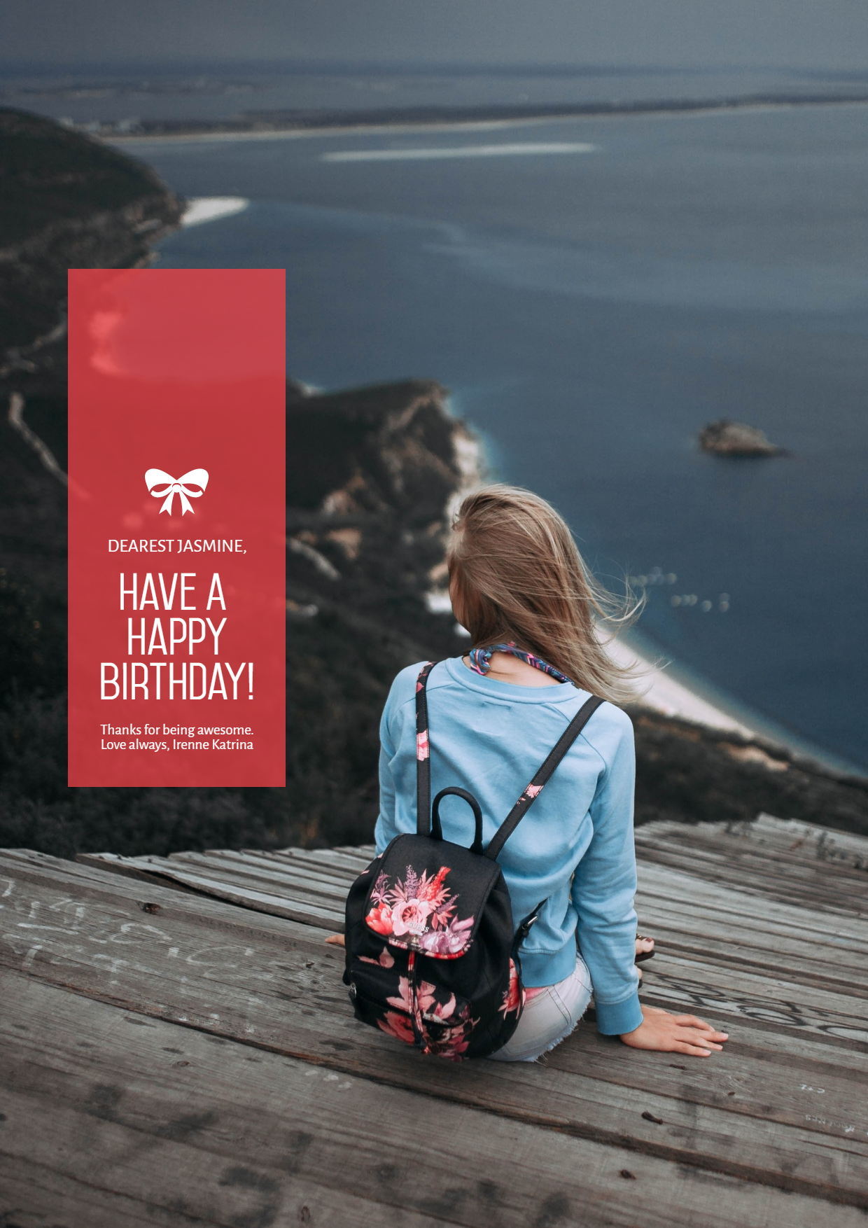 Celebrating Happy Birthday Design  Template